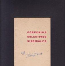 Libros: CONVENIOS COLECTIVOS SINDICALES - VICESECRETARIA NACIONAL DE ORDENACION 1958. Lote 244616040