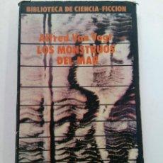 Libros: LOS MONSTRUOS DEL MAR - ALFRED VAN VOGT - EDITORIAL SIRIO. Lote 244709500