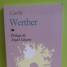 Libros: WERTHER. GOETHE. COL. BIBLIOTECA EDAF, 213. ED. EDAF. MADRID 1997. Lote 244785535