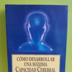 Libros: MIRIAM & OTTO EHRENBERG - COMO DESARROLLAR UNA MAXIMA CAPACIDAD CEREBRAL / INCREMENTAR INTELIGENCIA. Lote 244787155