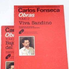 Libros: OBRAS:: BAJO LA BANDERA DEL SANDINISMO ; VIVA SANDINO. Lote 245176515