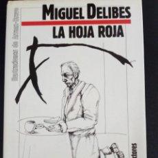 Libros: LA HOJA ROJA - MIGUEL DELIBES. Lote 245207755