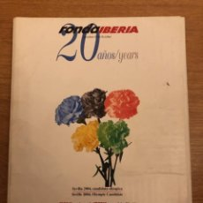 Libros: REVISTA RONDA - IBERIA - OCTUBRE. 1996. 20 AÑOS.. Lote 245310215