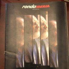 """Libros: RESULTADOS DE """"REVISTA RONDA - IBERIA - JULIO. 1996"""". Lote 245310915"""