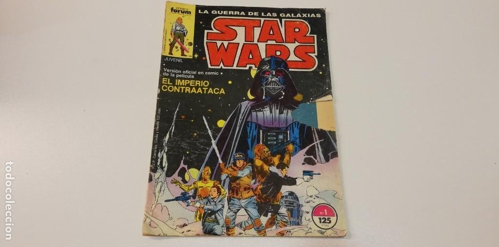 V- LA GUERRA DE LAS GALAXIAS STAR WARS EL IMPERIO CONTRAATACA Nº 1 COMICS FORUM (Libros sin clasificar)