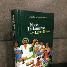 Libros: NUEVO TESTAMENTO CON LECTIO DIVINA. ALEJANDRO QUEZADA HERMOSILLO.. Lote 245630080