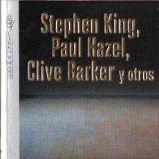 Libros: ESCALOFRÍOS - KING,STEPHEN,HAZEL,BARKER Y OTROS. Lote 245763645
