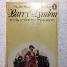 Libros: THE MEMOIRS OF BARRY LYNDON - WILLIAM MAKEPEACE THACKERAY. Lote 245769140