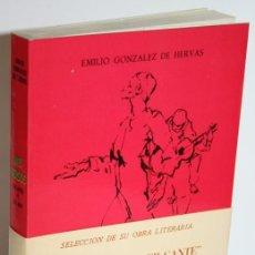 Libros: MIS VERSOS DE AYER Y DE HOY - GONZÁLEZ DE HERVÁS, EMILIO. Lote 245892045