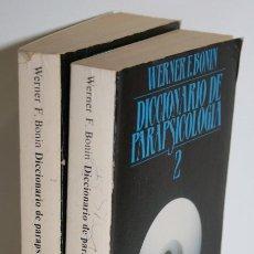 Libros: DICCIONARIO DE PARAPSICOLOGÍA - BONIN, WERNER F.. Lote 245892210