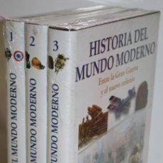 Libros: HISTORIA DEL MUNDO MODERNO OCEANO. 3 TOMOS - V.V.A.A.. Lote 245892245