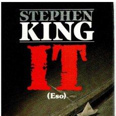Libros: IT (ESO) - STEPHEN KING. Lote 245896500