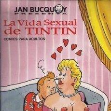 Libros: LA VIDA SEXUAL DE TINTIN. COMICS PARA ADULTOS - BUCQUOY, JAN. Lote 245901340