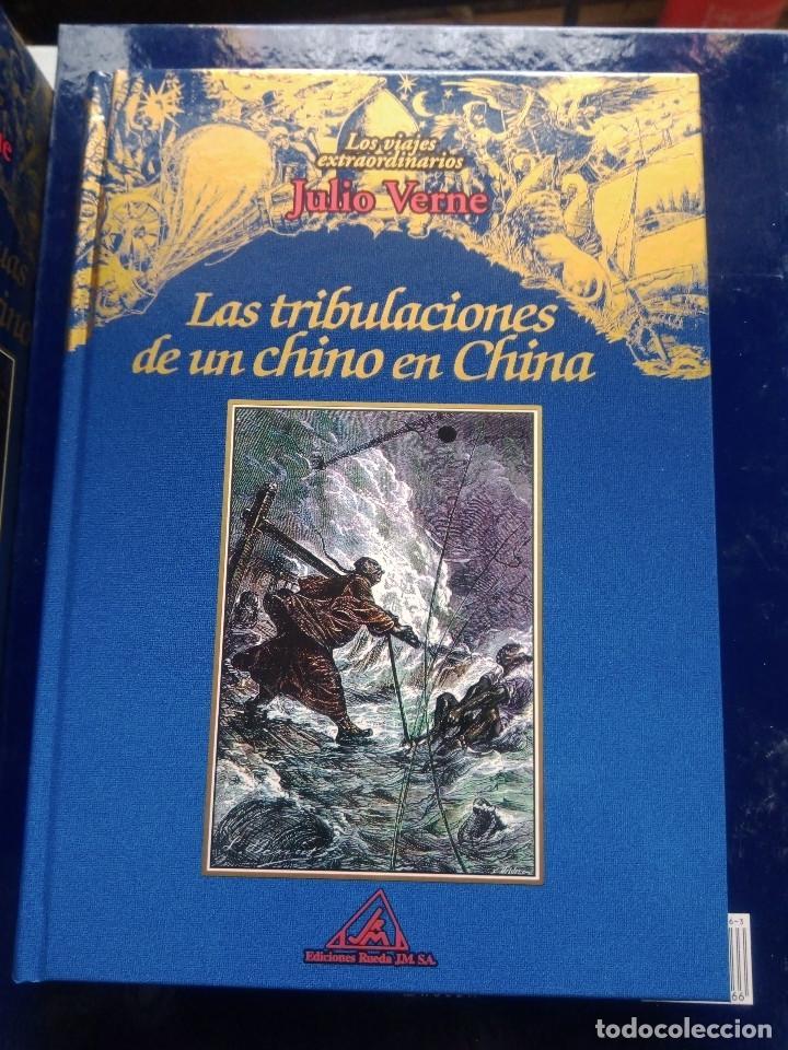 Libros: COLECCIÓN VIAJES EXTRAORDINARIOS JULIO VERNE - EDICIONES RUEDA - ILUSTRADO-13 volumenes - Foto 2 - 245931630