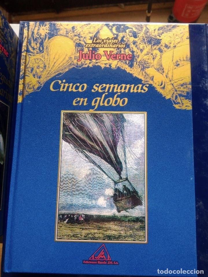 Libros: COLECCIÓN VIAJES EXTRAORDINARIOS JULIO VERNE - EDICIONES RUEDA - ILUSTRADO-13 volumenes - Foto 3 - 245931630