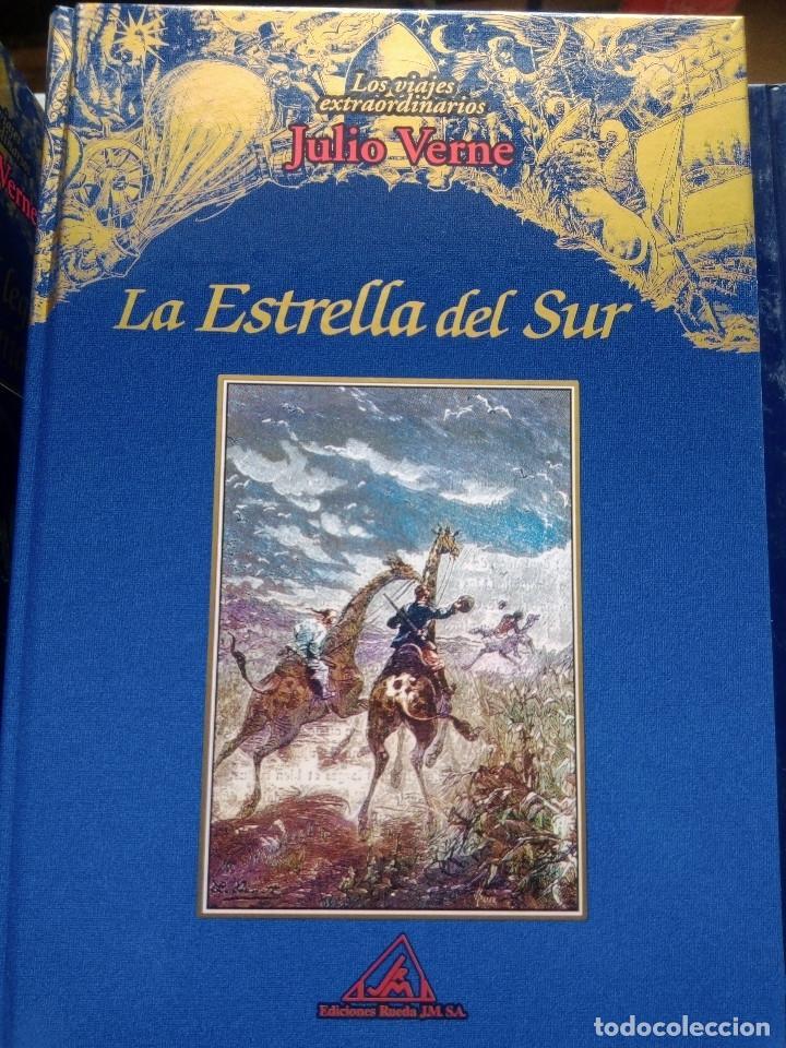 Libros: COLECCIÓN VIAJES EXTRAORDINARIOS JULIO VERNE - EDICIONES RUEDA - ILUSTRADO-13 volumenes - Foto 4 - 245931630