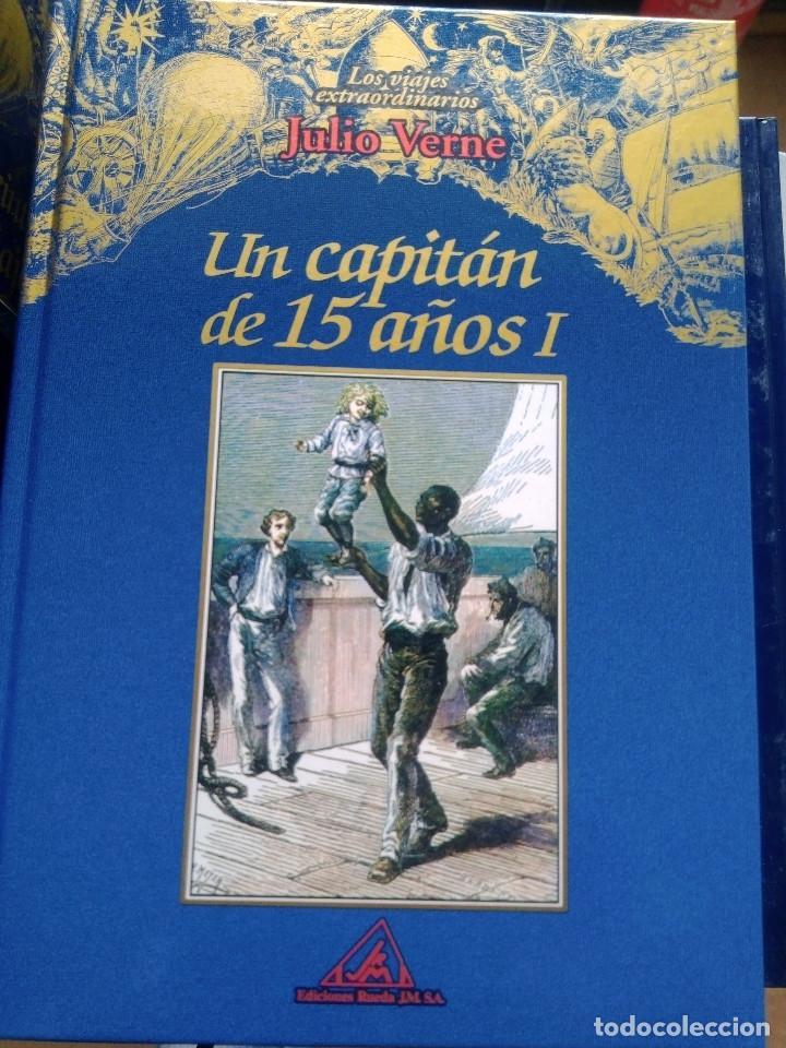 Libros: COLECCIÓN VIAJES EXTRAORDINARIOS JULIO VERNE - EDICIONES RUEDA - ILUSTRADO-13 volumenes - Foto 5 - 245931630