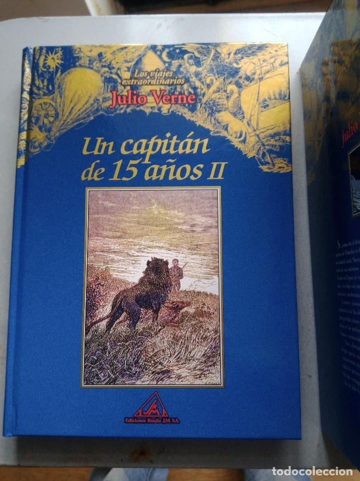 Libros: COLECCIÓN VIAJES EXTRAORDINARIOS JULIO VERNE - EDICIONES RUEDA - ILUSTRADO-13 volumenes - Foto 6 - 245931630