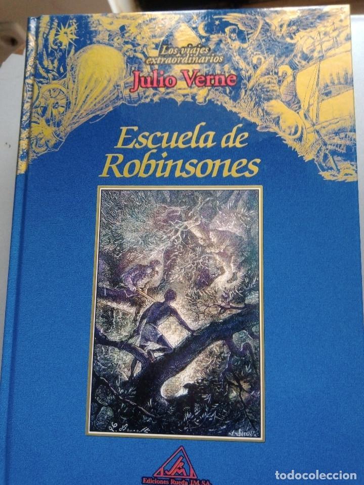 Libros: COLECCIÓN VIAJES EXTRAORDINARIOS JULIO VERNE - EDICIONES RUEDA - ILUSTRADO-13 volumenes - Foto 7 - 245931630