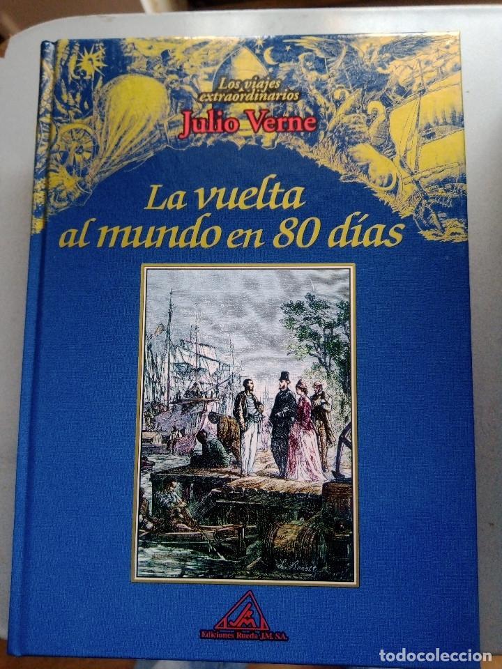 Libros: COLECCIÓN VIAJES EXTRAORDINARIOS JULIO VERNE - EDICIONES RUEDA - ILUSTRADO-13 volumenes - Foto 8 - 245931630
