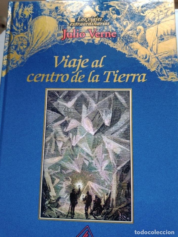 Libros: COLECCIÓN VIAJES EXTRAORDINARIOS JULIO VERNE - EDICIONES RUEDA - ILUSTRADO-13 volumenes - Foto 9 - 245931630