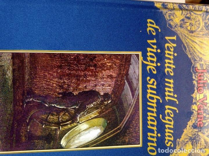 Libros: COLECCIÓN VIAJES EXTRAORDINARIOS JULIO VERNE - EDICIONES RUEDA - ILUSTRADO-13 volumenes - Foto 10 - 245931630