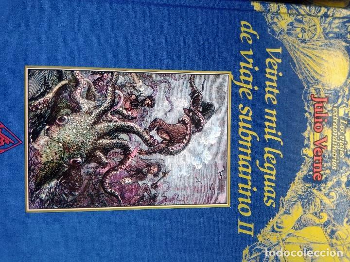 Libros: COLECCIÓN VIAJES EXTRAORDINARIOS JULIO VERNE - EDICIONES RUEDA - ILUSTRADO-13 volumenes - Foto 11 - 245931630