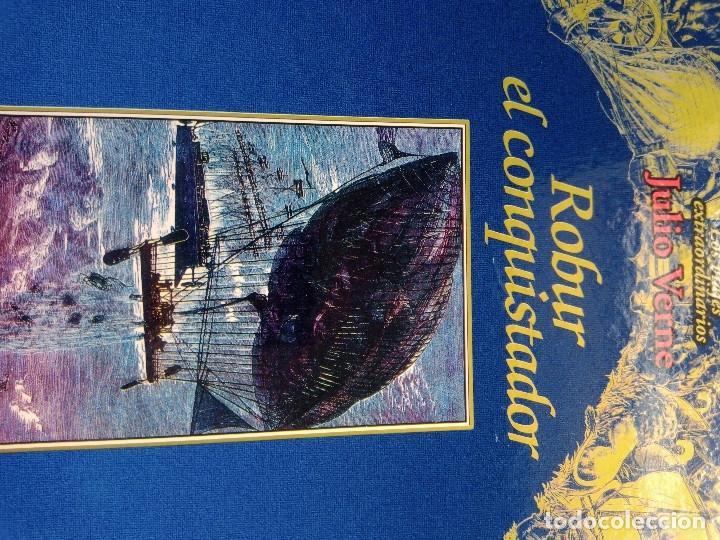 Libros: COLECCIÓN VIAJES EXTRAORDINARIOS JULIO VERNE - EDICIONES RUEDA - ILUSTRADO-13 volumenes - Foto 12 - 245931630