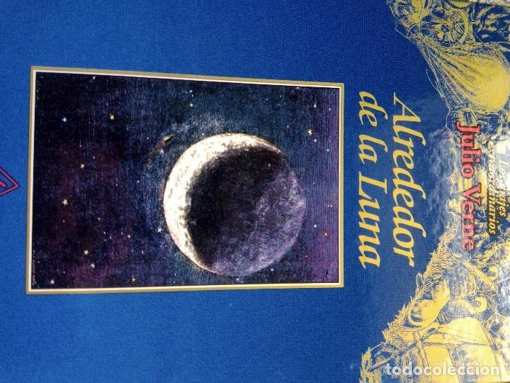 Libros: COLECCIÓN VIAJES EXTRAORDINARIOS JULIO VERNE - EDICIONES RUEDA - ILUSTRADO-13 volumenes - Foto 13 - 245931630