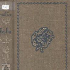 Libros: BEN-HUR - WALLACE, LEWIS. Lote 245938345