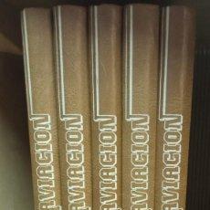 Libros: ENCICLOPEDIA ILUSTRADA DE LA AVIACIÓN Nº2,3,4,5 Y 6. Lote 245951970