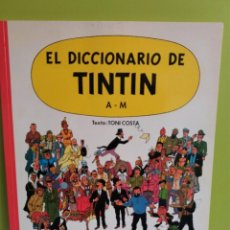 Libros: EL DICCIONARIO DE TINTIN, LETRAS A - M . ED. JUVENTUD. Lote 246035405