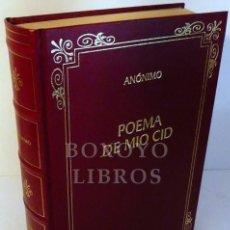 Libros: ANÓNIMO. POEMA DEL MÍO CID. EDICIÓN, INTRODUCCIÓN Y NOTAS DE IAN MICHAEL. Lote 246094780
