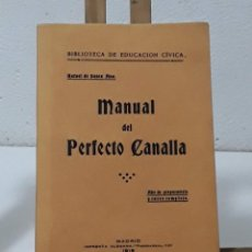 Libros: MANUAL DEL PERFECTO CANALLA (FACSÍMIL) - RAFAEL SANTA ANA. Lote 246299240