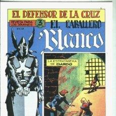 Libros: EL CABALLERO BLANCO, FACSIMIL NUMERO 08: LA ESTRATAGEMA DE DARDO. Lote 246406730