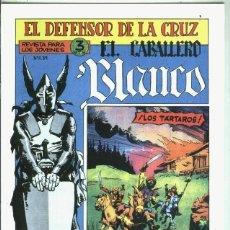 Libros: EL CABALLERO BLANCO, FACSIMIL NUMERO 11: LOS TARTAROS. Lote 246410150
