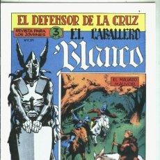 Libros: EL CABALLERO BLANCO, FACSIMIL NUMERO 13: EL MALVADO MAUVOIR. Lote 246413355
