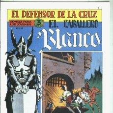 Libros: EL CABALLERO BLANCO, FACSIMIL NUMERO 17: ACUSADO. Lote 246420930