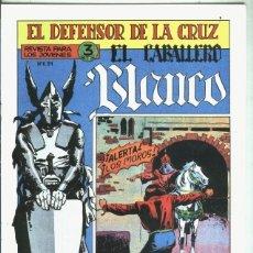 Libros: EL CABALLERO BLANCO, FACSIMIL NUMERO 20: ALERTA, LOS MOROS. Lote 246420940
