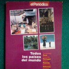 Libros: LIBRO TODOS LOS PAISES D MUNDO - RED RENAULT DE CATALUNYA - PARAGUAY PERU POLONIA PORTUGAL QATAR. Lote 246485215