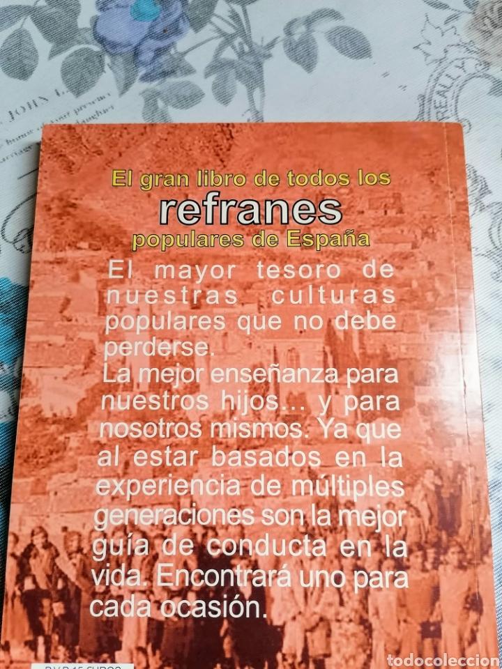 Libros: EL GRAN LIBRO DE TODOS LOS REFRANES POPULARES DE ESPAÑA.MAS DE 20000.ED EL ARCA DE PAPEL - Foto 2 - 246501165