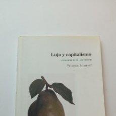 Livres: LUJO Y CAPITALISMO - SOMBART, WERNER. Lote 235927695