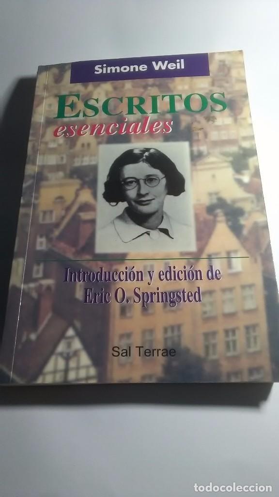 SIMONE WEIL. ESCRITOS ESENCIALES. SAL TERRAE. 2000 (Libros sin clasificar)