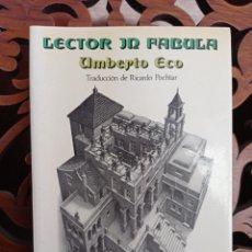Libros: LECTOR IN FABULA, UMBERTO ECO. LA COOPERACION INTERPRETATIVA EN EL TEXTO NARRATIVO. LUMEN 1981 1ª ED. Lote 248097365