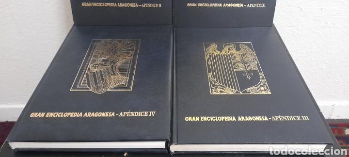 Libros: GRAN ENCICLOPEDIA ARAGONESA 4 APENDICE COMPLETOS - Foto 4 - 248636225