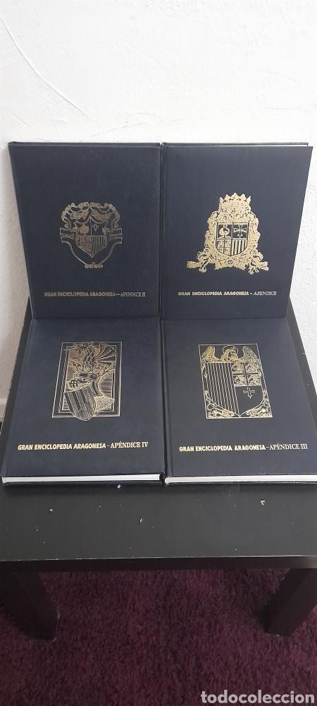 GRAN ENCICLOPEDIA ARAGONESA 4 APENDICE COMPLETOS (Libros sin clasificar)