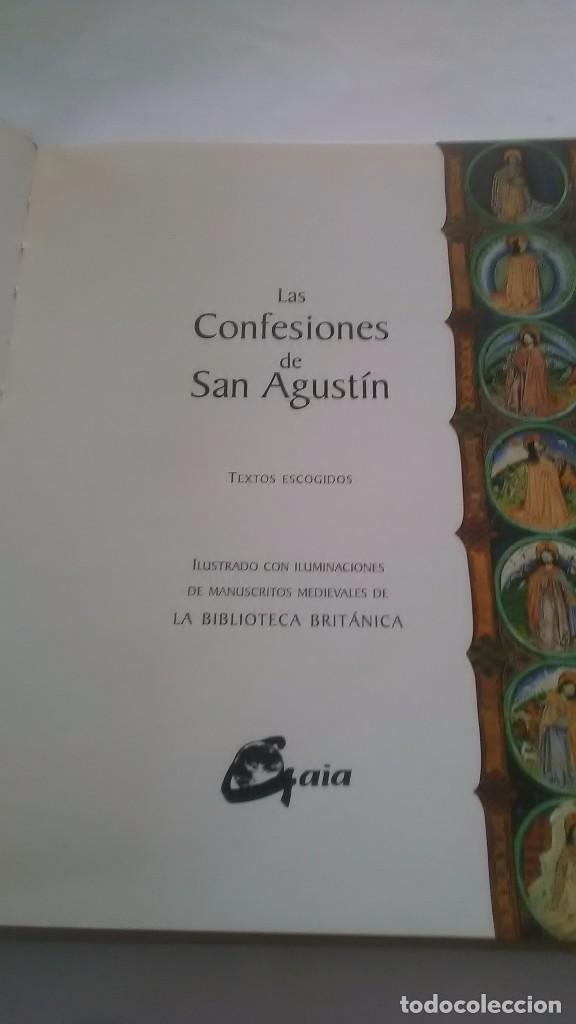Libros: San Agustín. Las confesiones. Textos escogidos. Gaia Ediciones. 2002. - Foto 2 - 248729240