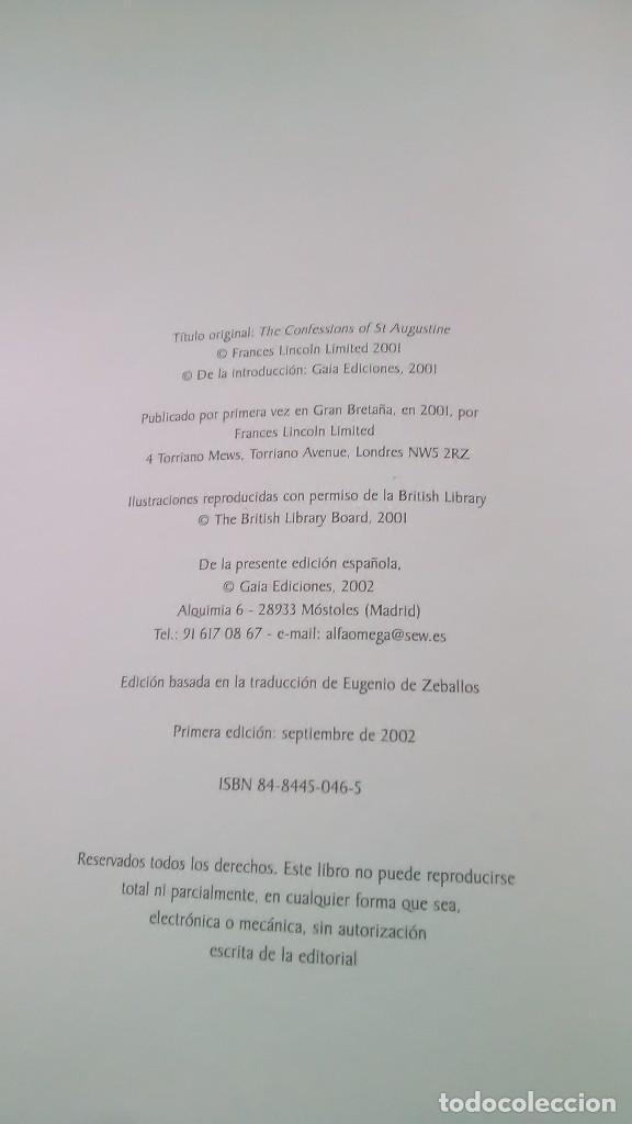Libros: San Agustín. Las confesiones. Textos escogidos. Gaia Ediciones. 2002. - Foto 3 - 248729240