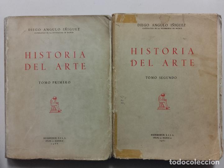 HISTORIA DEL ARTE, DIEGO ANGULO IÑIGUEZ, 1962, 1966 (Libros sin clasificar)
