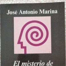 Libros: EL MISTERIO DE LA VOLUNTAD PERDIDA JOSE ANTONIO MARINA. Lote 251875445